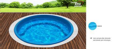 Medidas de piscinas adulto e infantil medidas teis - Piscina redonda fibra ...